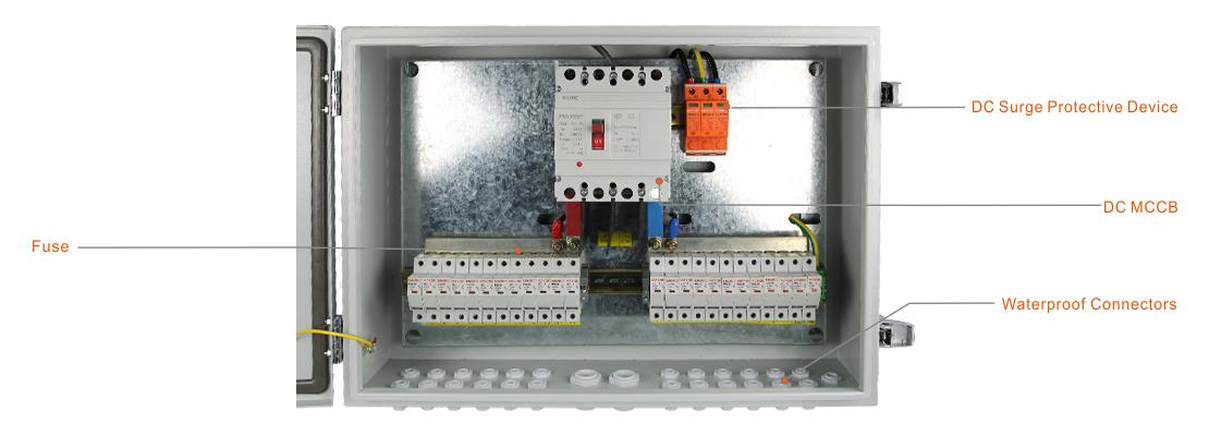 MG-PV 12/1 DC COMBINER BOX