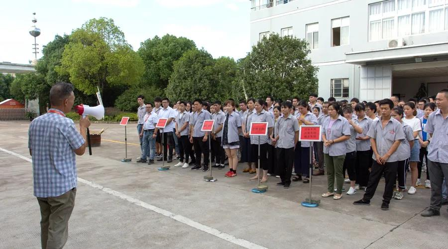 "To prevent ""burning"", MAXGE Electric conducts fire safety drills"
