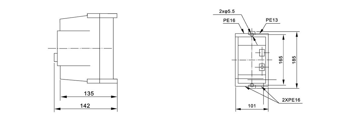SGE1-D Series Magnetic Starter