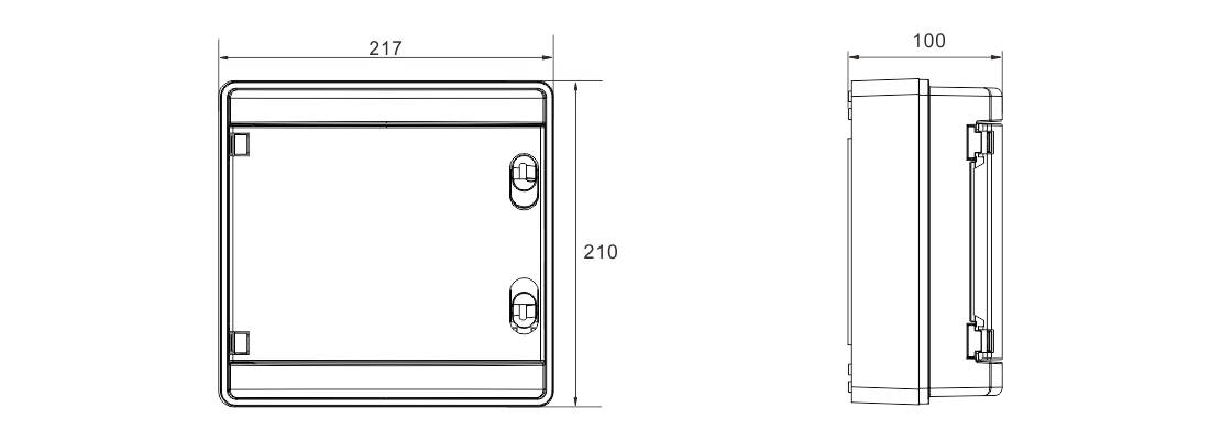 MG-PV 1/1 DC COMBINER BOX