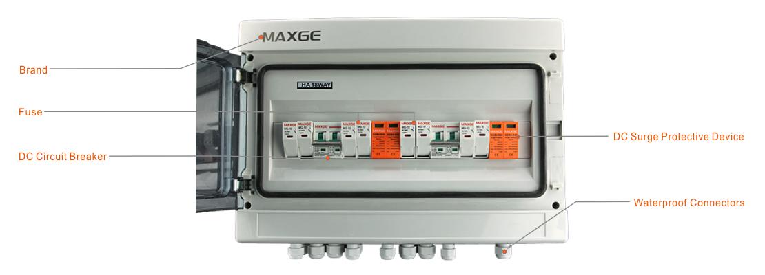 MG-PV 4/2 DC COMBINER BOX