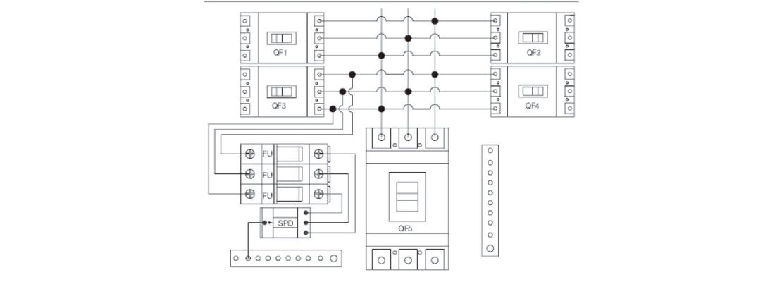 MG-AC 4/1 AC COMBINER BOX